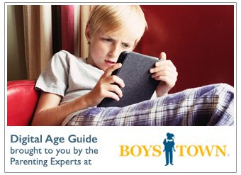 The days of kids meeting their friends at the park and being back by dinnertime are a distant memory. Parents are now dealing with a whole new demon – technology. TVs, video games, cell phones and social media are the new norm. Let Boys Town Parenting help you set boundaries and keep your kids safe in today's digital world.