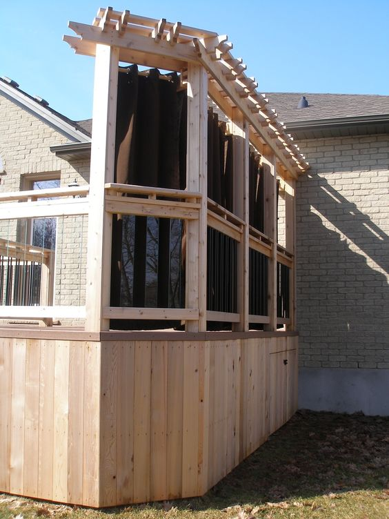 AFTER - Coleman-Dias³ Construction Inc - Two-Tiered Composite & Cedar Deck Renovation