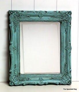 How-to do antique glazing.