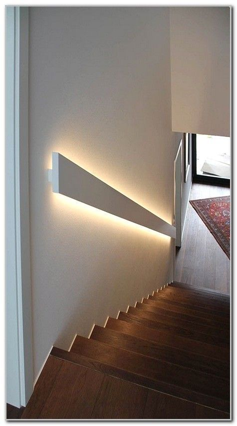 Pin By Jennifer Fish On Lighting Ideas In 2020 Basement Lighting Staircase Lighting Ideas Stairway Lighting