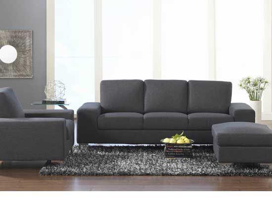 Dania Fabric Sofas Oregon Sofa Anthracite Furniture