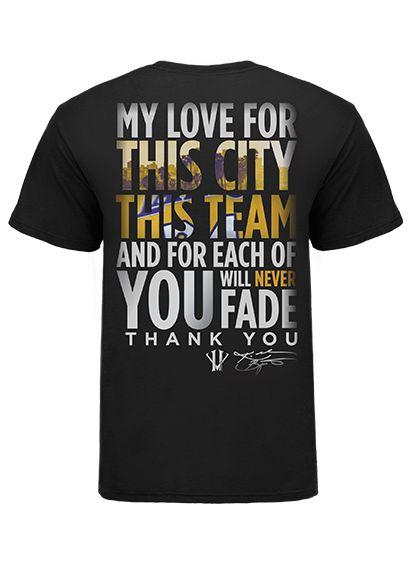 Kobe Thank You T-Shirt