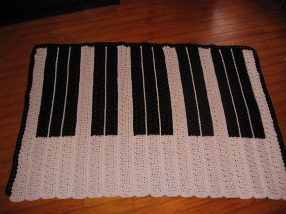 Crochet Pattern For Piano Afghan : Pinterest The world s catalog of ideas