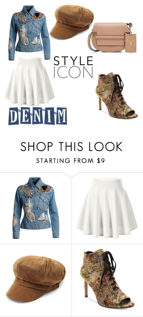 """Untitled #92"" by wallan ❤ liked on Polyvore featuring Alexander McQueen, Nanette Lepore and Valentino"