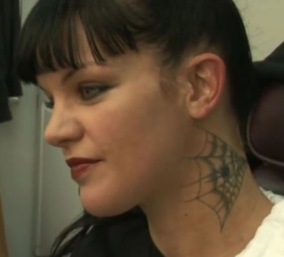 Ncis abby 39 s neck tattoo tattoo ideas pinterest neck for Pauley perrette tattoos