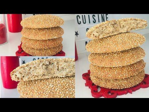 خبز الشعير المحراش البلدي الصحي بطريقة سهلة مع كل أسراره بدون ذلك Youtube Rice Krispie Treat Cuisine Food