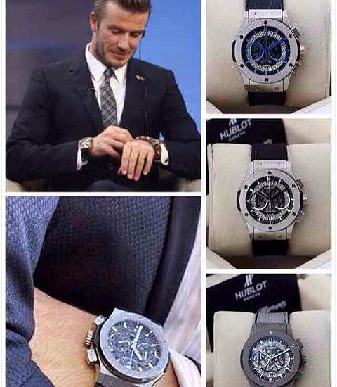 David beckham classic and david on pinterest for Celebrity watches male