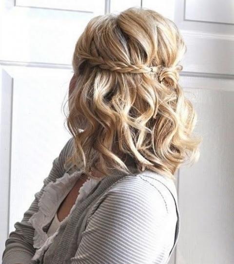 Coiffure Mariage 2021 20 Idees Pour Les Cheveux Mi Longs Coiffure Mariage Mi Long Coiffure Cheveux Mi Long Mariage Coiffure Cheveux Mi Long