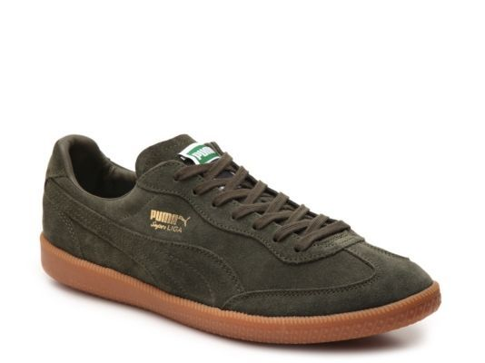 lowest price ae980 e2a59 spain mens puma super liga retro sneaker green d1f73 a1a20