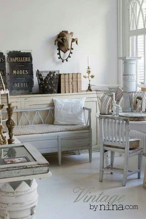 nina hartmann vintage home decor via christina khandan on irvinehomeblog irvine. Black Bedroom Furniture Sets. Home Design Ideas