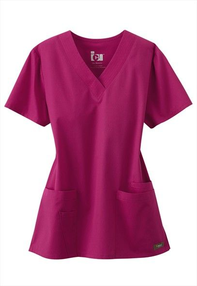 ICU by Barco 4 pocket v-neck scrub top.