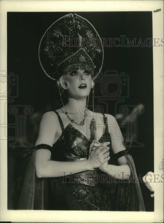 "eBay #Sponsored 1984 Press Photo Actress Ann Jillian in ""Ellis Island"" - nox30385"