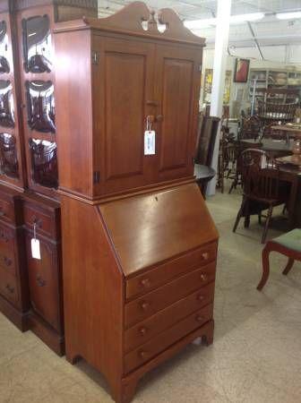 maple secretary craigslist Willett Furniture
