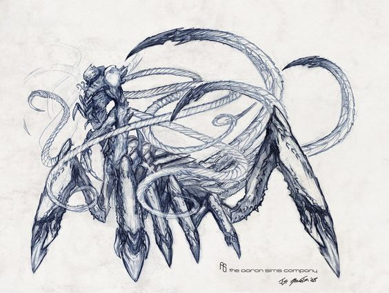 """The Kraken"" Body sketch by JSMarantz on DeviantArt"