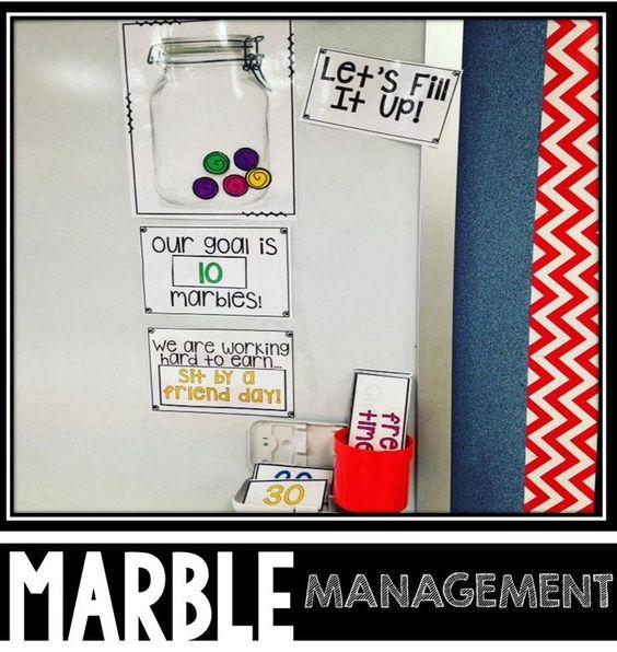 Innovative Classroom Management Tools ~ Classroom management tool fill up the jar student
