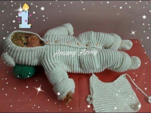 تعليم الكروشيه كروشيه سالوبيت للبيبى جزء 1 How To Crochet Youtube Crochet Baby Dress Crochet Baby Childrens Clothes