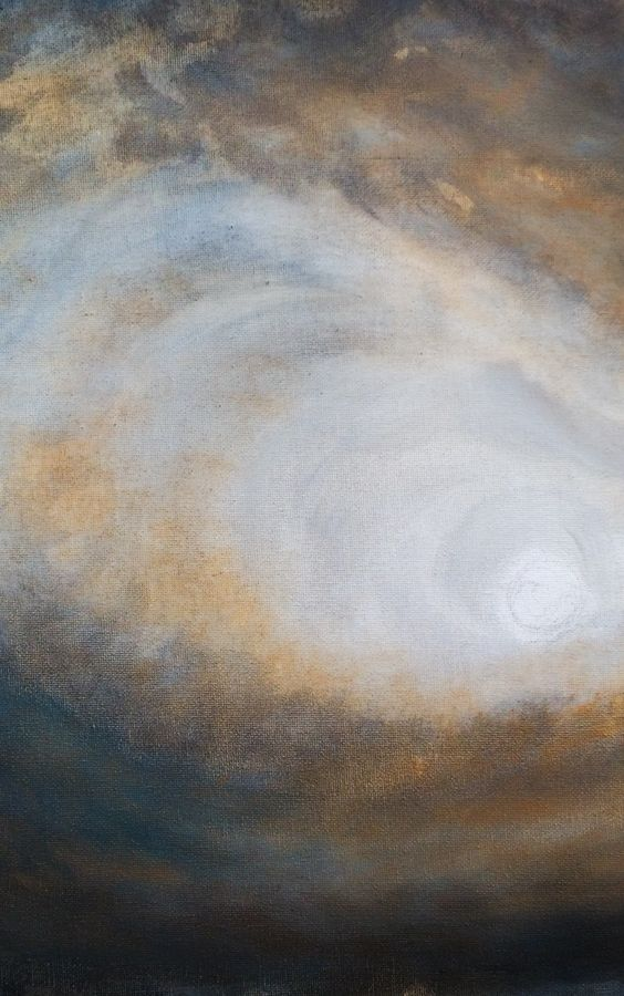 Something a bit more abstract I'm currently working on. Very much inspired by J.M.W.Turner - oil on canvas #paintings