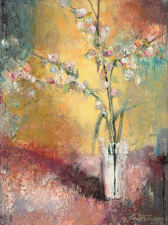 loved this artist's work i saw at howard mandville gallery a few years ago in kirkland, wa: Flower Art, Flower Paintings, Art Design, Artscapes Paintings, Favorite Paintings, Art Flowers, Flowers Abstract, Art Inspirations