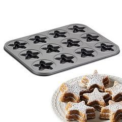 Cake Boss™ Specialty 12-Cup Nonstick Molded Star Cookie Pan