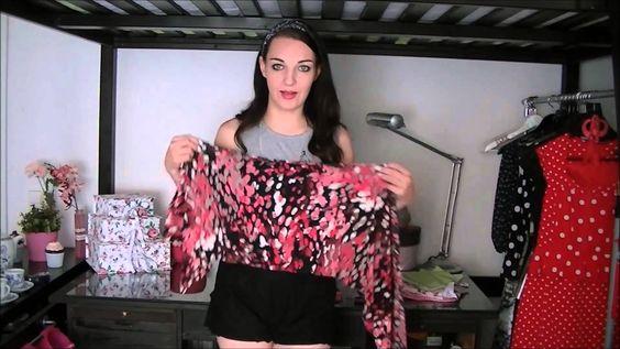 diy bandeau oberteil f r cut out shirts und tank tops. Black Bedroom Furniture Sets. Home Design Ideas