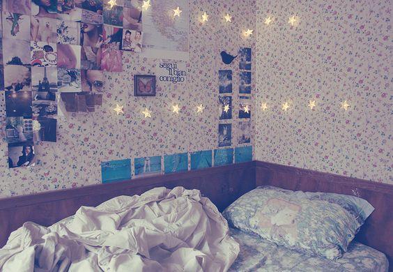 Bedroom,Flowers,Photography,Stars