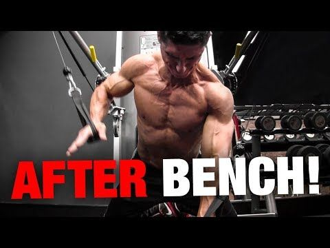 Do This Chest Exercise Immediately After Bench Press Youtube Chest Workouts Bench Press Weight Training Programs