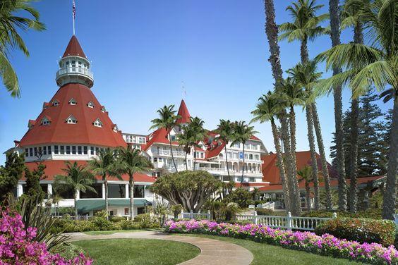 The Del —Hotel Del Coronado near San Diego