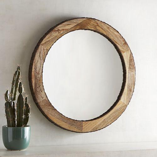 Dakota Live Edge 30 Round Mirror Pier 1 Imports Round Mirror