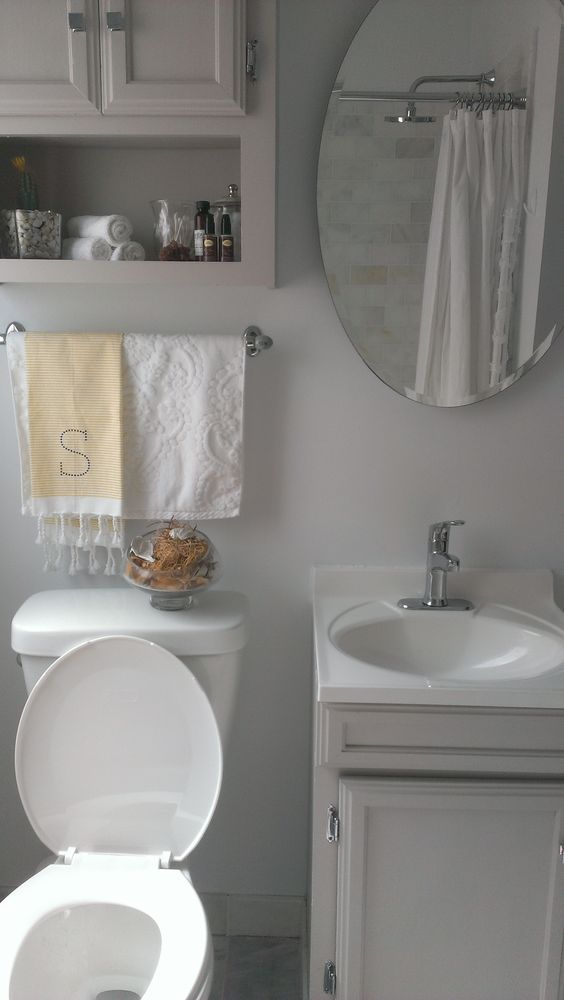 Small bathroom chicago sharkey gray small spaces for Nice small bathrooms