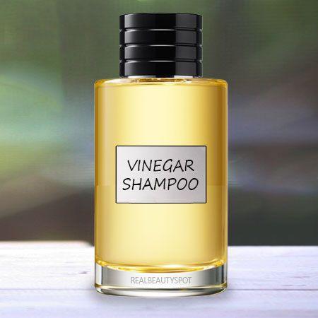 Champú Vinagre - champú contra la caspa
