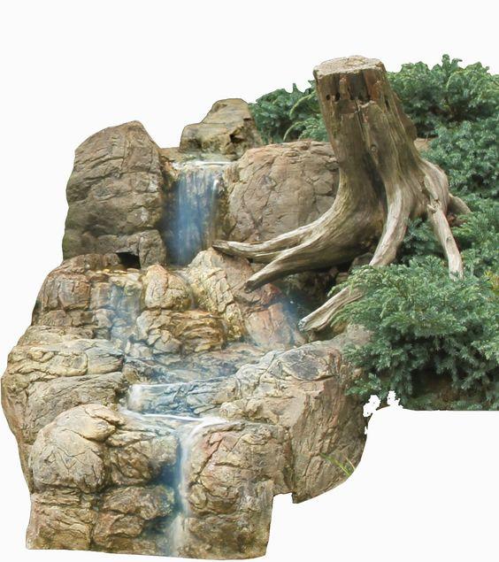 Bachlauf Wasserfall Gartenteich Bachlaufschalen Set IV: Amazon.de: Garten