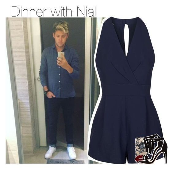 """""""Dinner with Niall"""" by zainy-1dx ❤ liked on Polyvore featuring beauty, Payne, Topshop, Casetify, Lime Crime, Alexandre Birman and NiallHoran"""