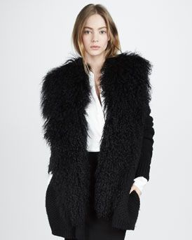 Vince Cardigan and Silk Blouse, 212 872 2843