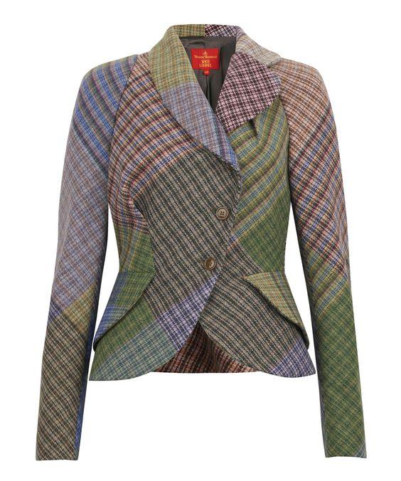 Vivienne Westwood Harris Tweed jacket for Liberty of London.