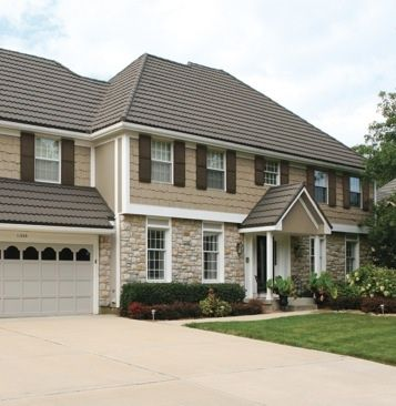 Shutters the shutter and exterior color schemes on pinterest for Tan siding shutter color combinations