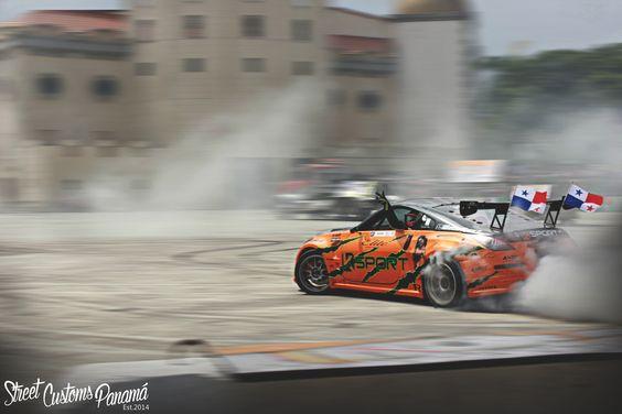 Mad Skills! LS Swap powered Nissan 350Z #Drift #JDM