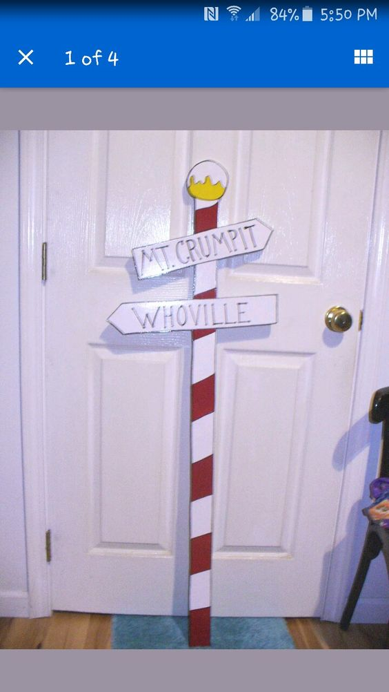 Whoville Sign