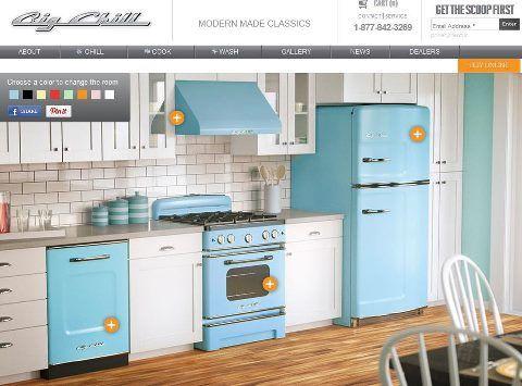 Vintage Kitchen Appliances Bermuda