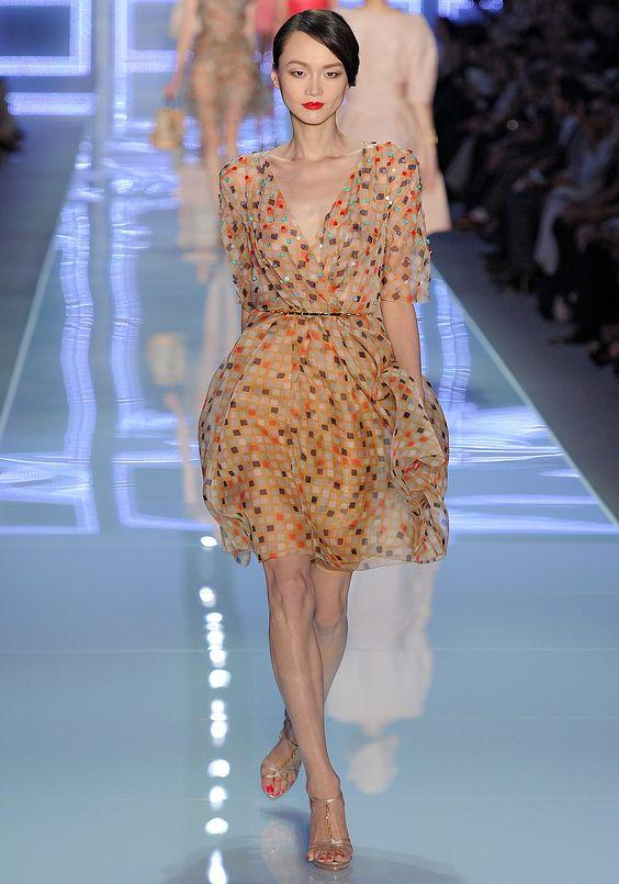 Flirty and fun Dior Spring 2012