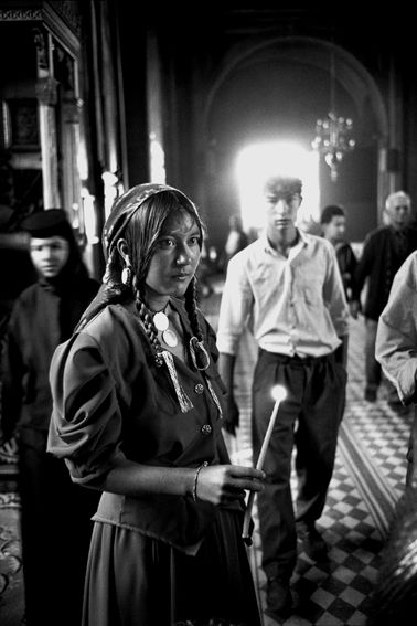 Yves Leresche photographe suisse lausanne - photo reportage - Gypsies . Rroms . Rroma . Tsiganes . Tziganes: