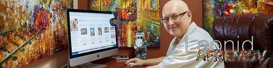 Leonid Afremov PINTURAS Compra de la Tienda por AfremovArtStudio