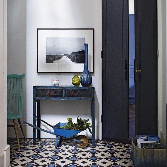 Flur Diele Wohnideen Möbel Dekoration Decoration Living Idea Interiors home corridor - Eine eklektische Stil Flur