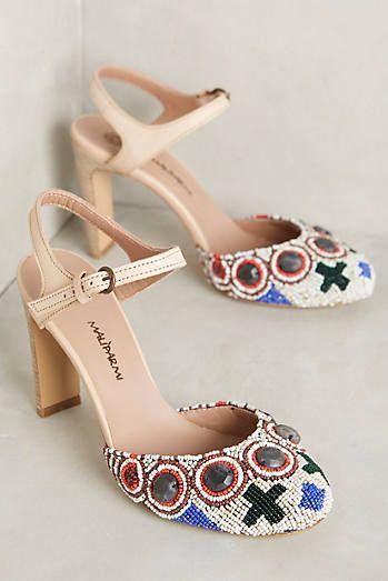 Maliparmi Beadwork Heels