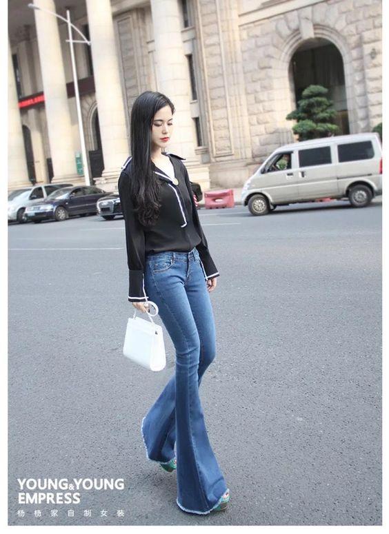 Unique Flare Jeans