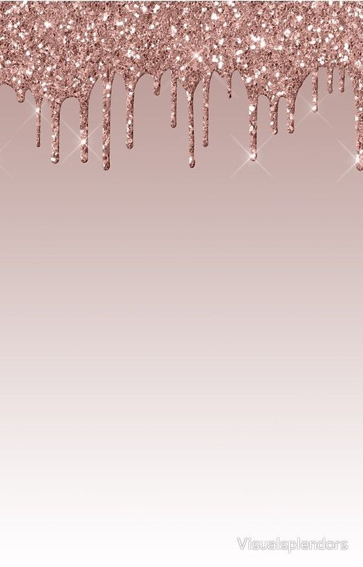 Dripping Glitter Iphone Case Cover By Visualsplendors Pink Glitter Wallpaper Gold Glitter Background Rose Gold Wallpaper Iphone Rose gold background hd wallpaper