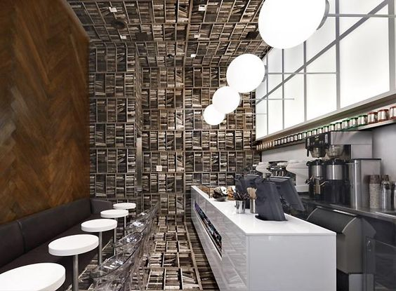 Small Cafe Interior Design Ideas | Waterloo Cafe | Pinterest