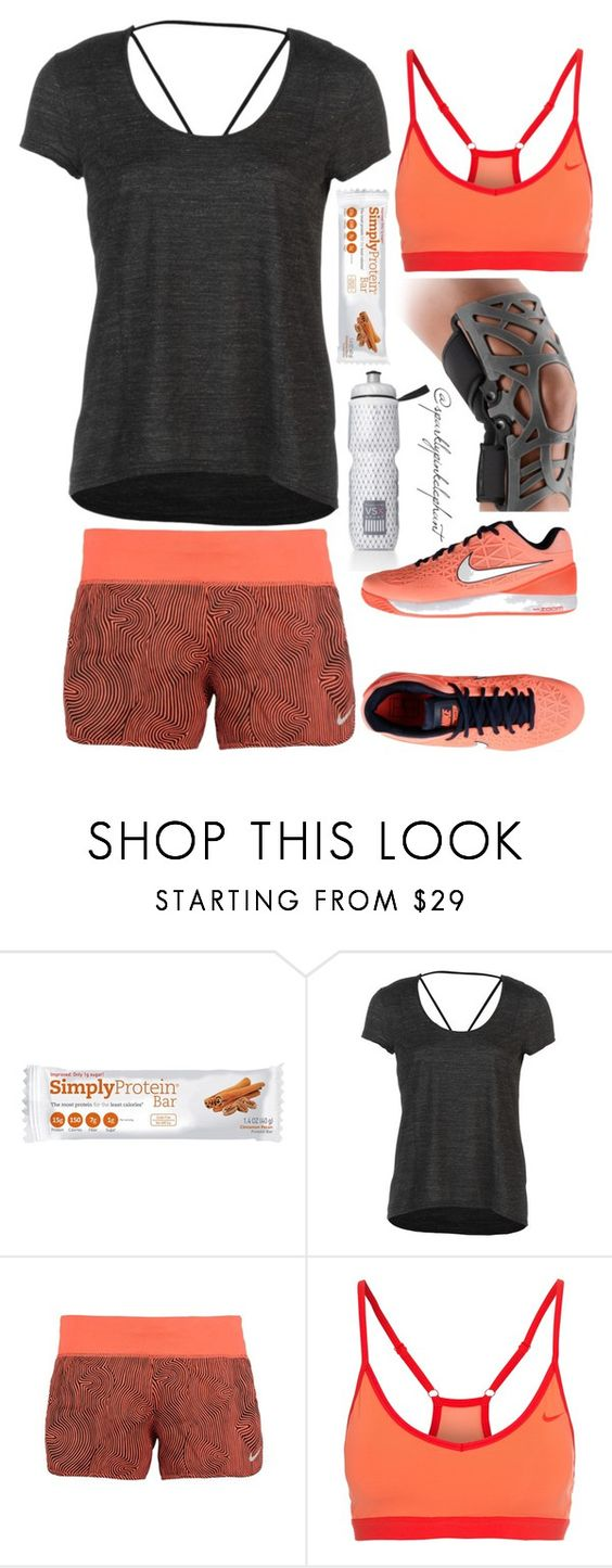 """Saturday AM Workout Session"" by sparklypinkelephant ❤ liked on Polyvore featuring Victoria's Secret, Alo Yoga and NIKE"