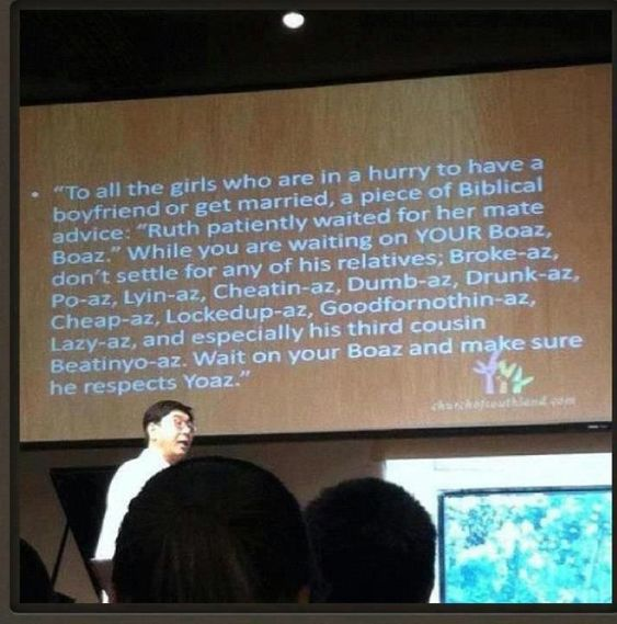 Takei always has hilarity on his pages. He looks after Yoaz by showing you the story of Boaz.