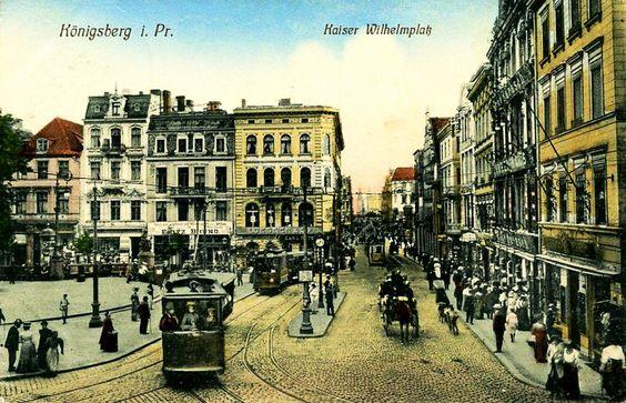 244 Königsberg - Wilhelmplatz 1911
