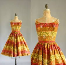 Image result for 50s vintage dresses on etsy